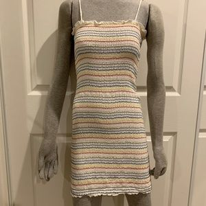 Urban Outfitters Smocked Bodycon Dress sz. S